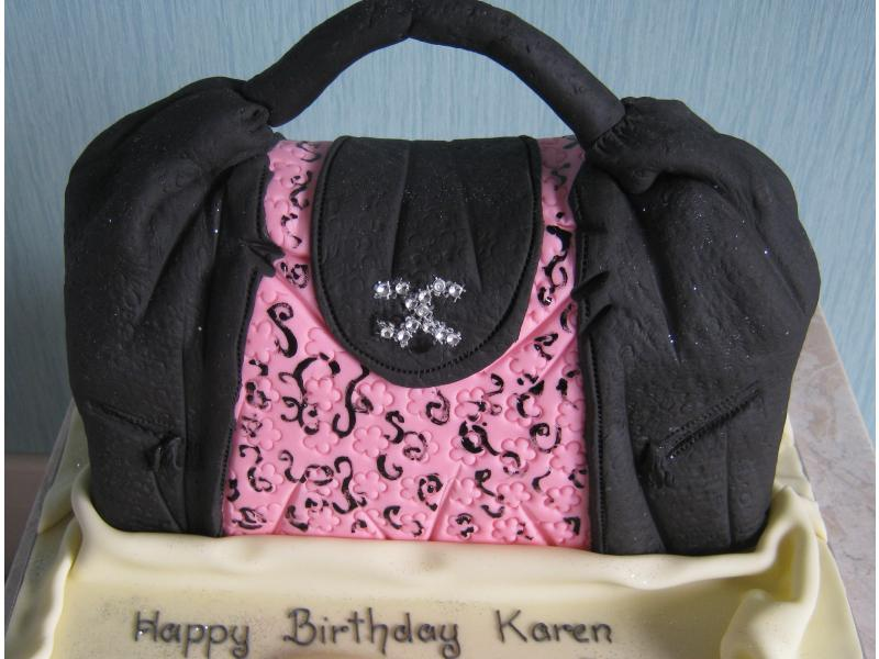 Karen's favorite handbag for her 30th birthday in Cleveleys from family in lemon sponge.