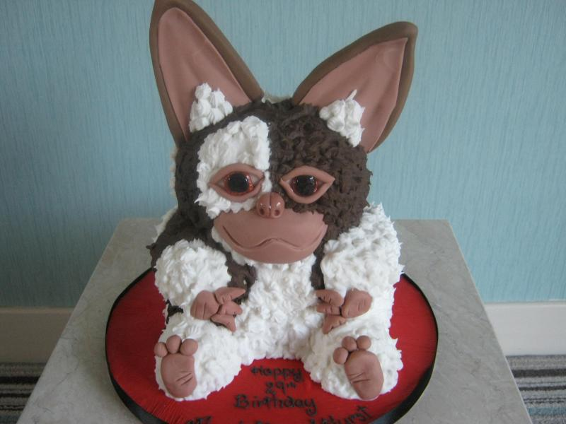 Gizmo style cake for Angela's birthday in Manchester
