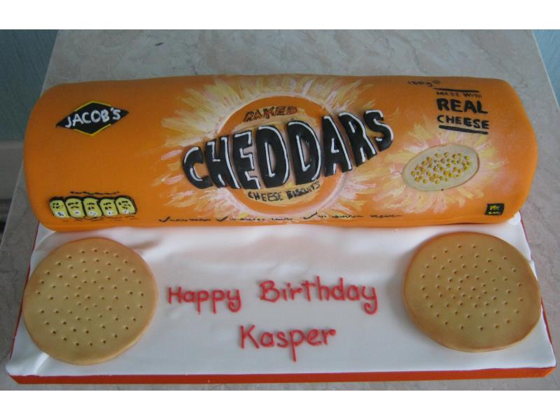 Cheddars completely edible plain sponge and sugarpaste for Kasper in Freckleton