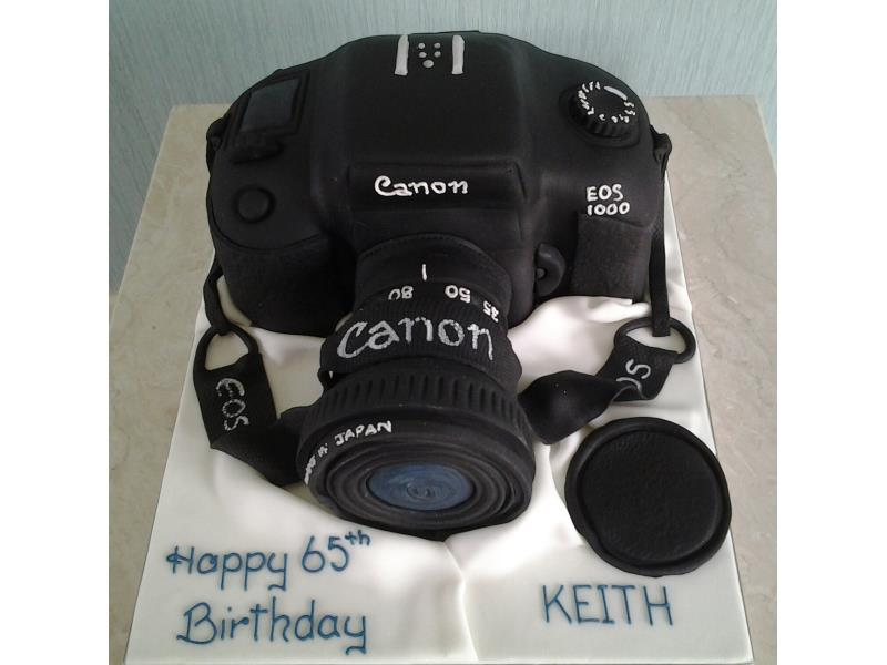 Camera - Canon camera made from Madeira sponge for Mark in Burnley
