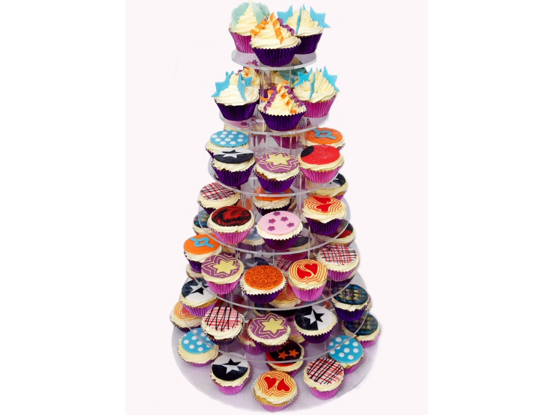 70s Theme - Production photo of cupcakes by Steve of Ur Image Photography, Blackpool