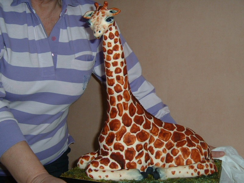 Amy (21st) - Large 21st birthday giraffe cake for Amy, Manchester