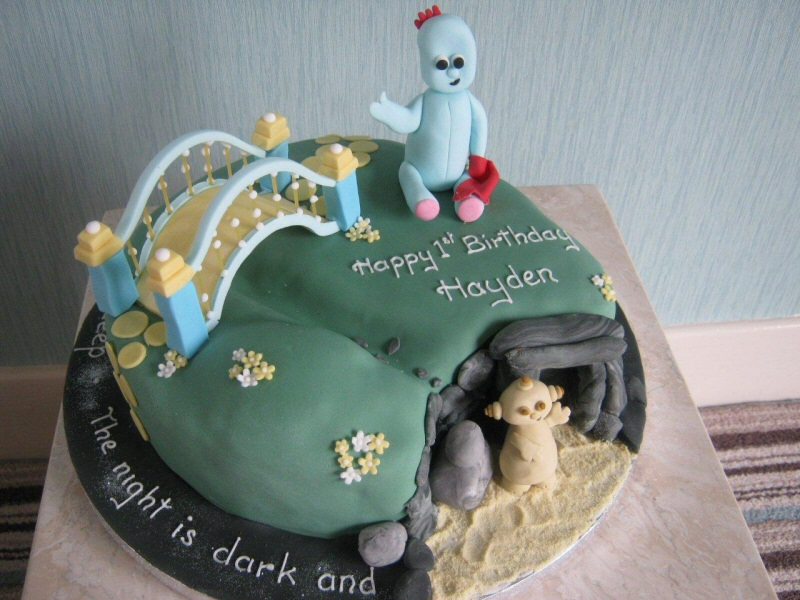 In The Night Garden - Themed cake from the popular children's TV program for Hayden in Blackpool.